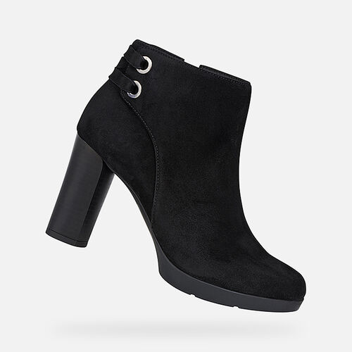 ANKLE BOOTS WOMAN GEOX ANYLLA WOMAN - null