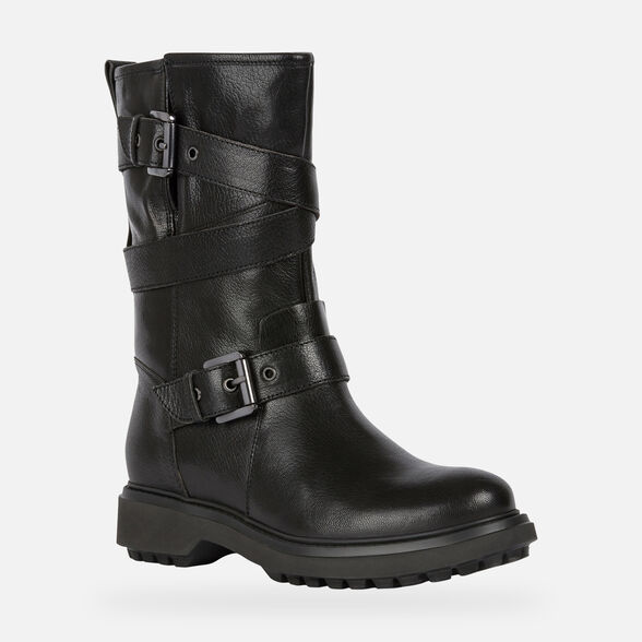 ANKLE BOOTS WOMAN GEOX ASHEELY WOMAN - 3