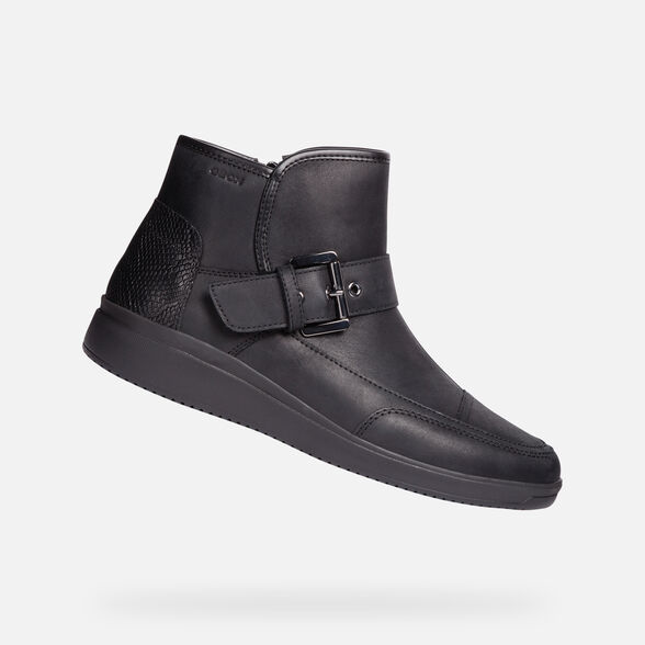 ANKLE BOOTS WOMAN GEOX TAHINA WOMAN - 1