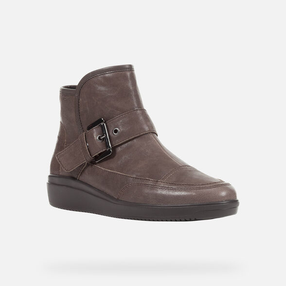 ANKLE BOOTS WOMAN GEOX TAHINA WOMAN - 3