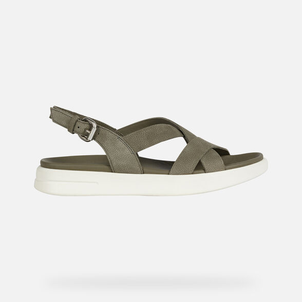 SANDALS WOMAN GEOX XAND 2S WOMAN - OLIVE