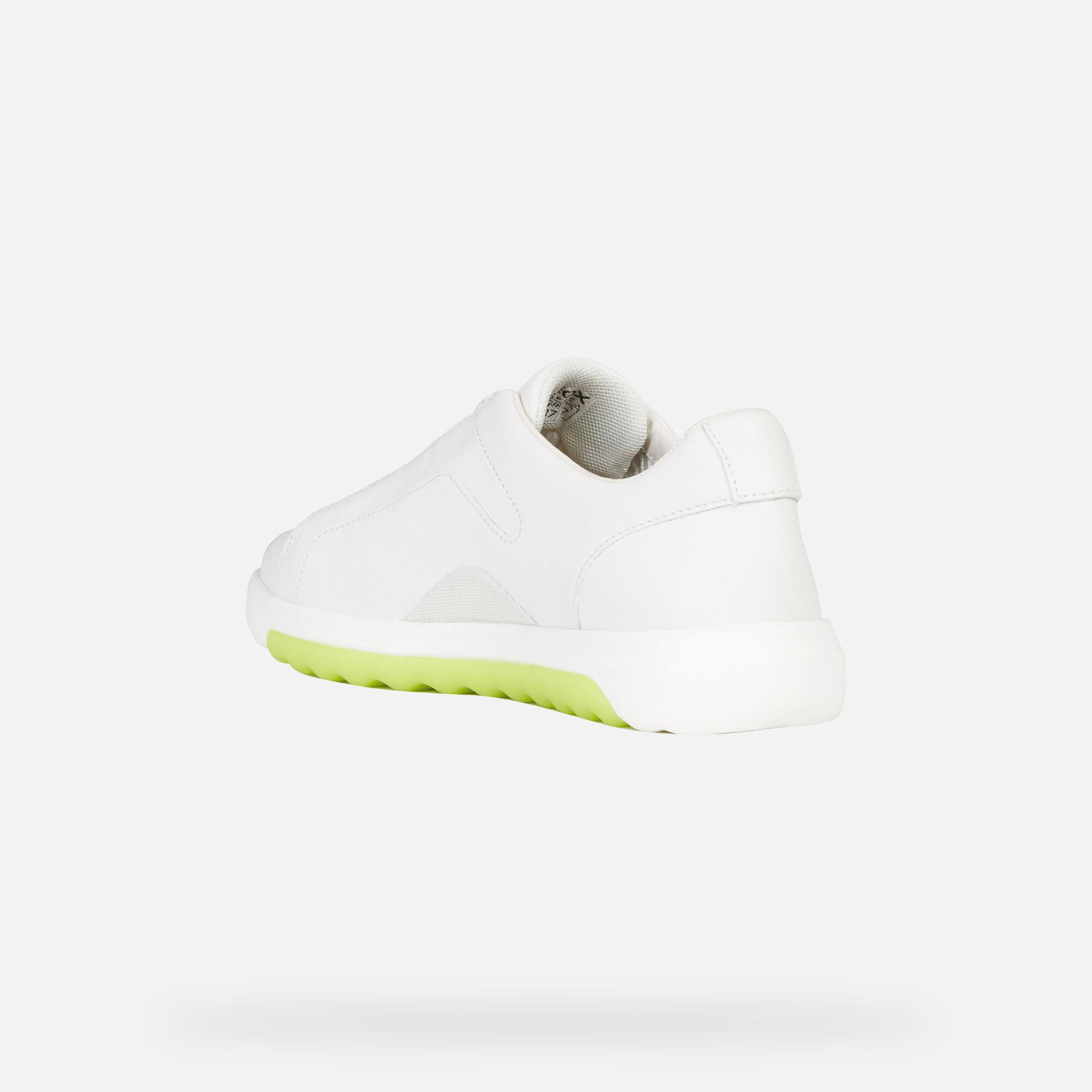 Geox Women's D NEXSIDE White Sneakers | Geox FW1920