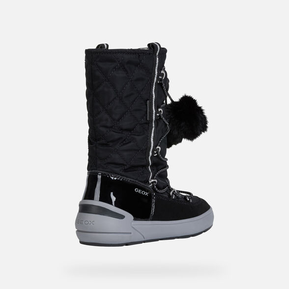 GIRL ANKLE BOOTS GEOX SLEIGH ABX GIRL - 5