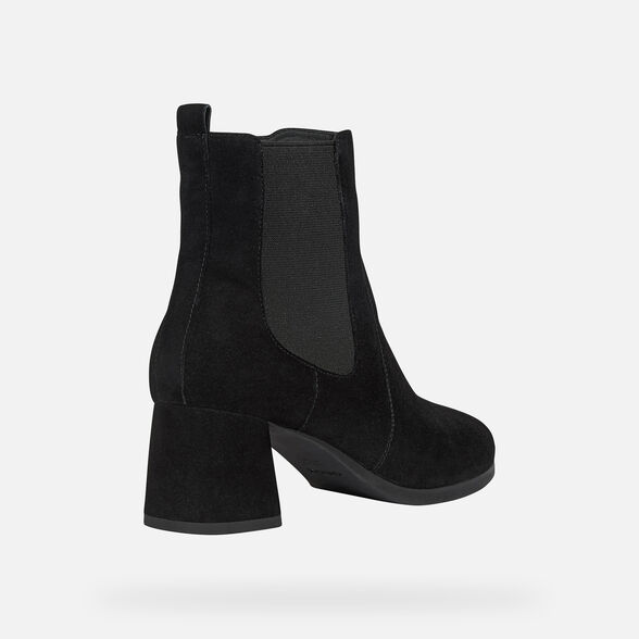 WOMAN ANKLE BOOTS GEOX CALINDA WOMAN - 5