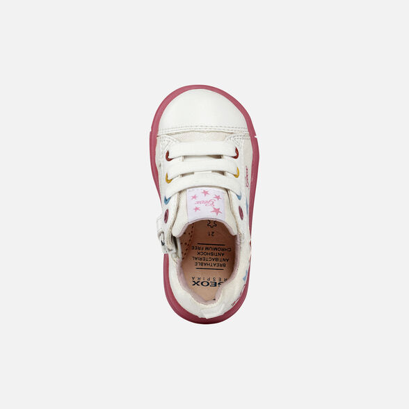 BABY SNEAKERS GEOX TROTTOLA BABY GIRL - 6