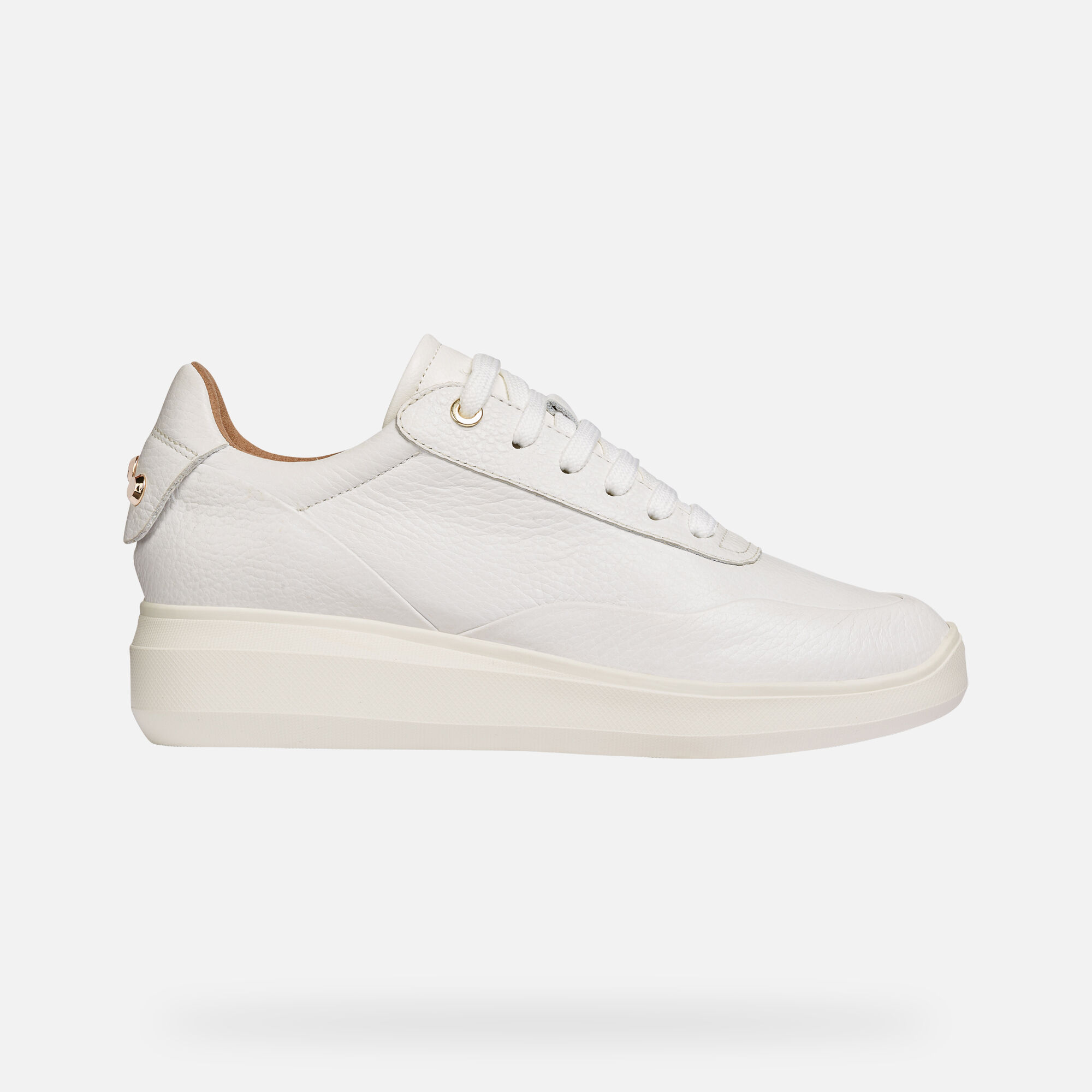 Geox Women's D RUBIDIA White Sneakers   Geox¨ Official Store