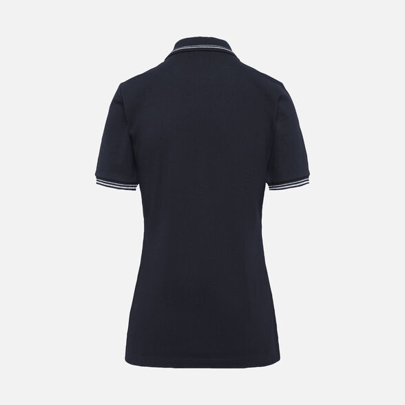 CAMISETAS MUJER GEOX SUSTAINABLE MUJER - AZUL MEDIANOCHE