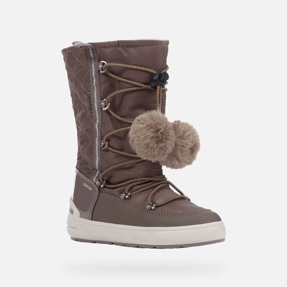 BOTTINES FILLE GEOX SLEIGH ABX FILLE - 3