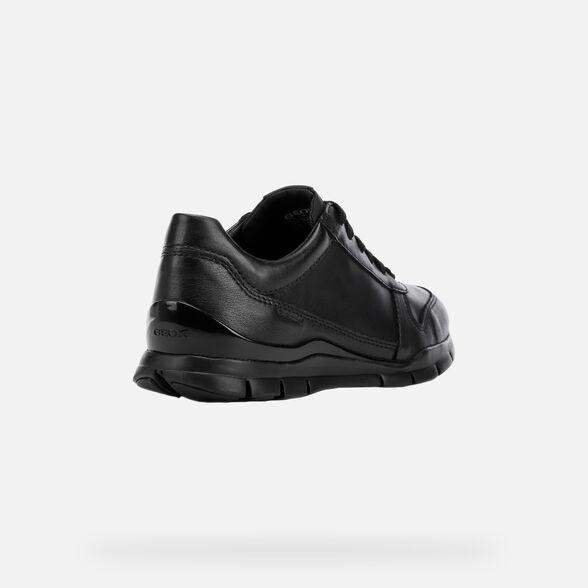 carro cura de acuerdo a  Geox SUKIE Woman: Black Sneakers | Geox® FW20
