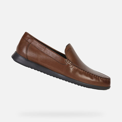 LOAFERS MAN GEOX SILE 2 FIT MAN - null