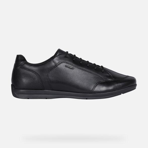 caligrafía Avispón resultado  Geox ADRIEN Man: Black Shoes | Geox ® Official Store