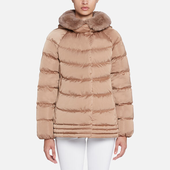WOMAN DOWN JACKETS GEOX CHLOO WOMAN - 2