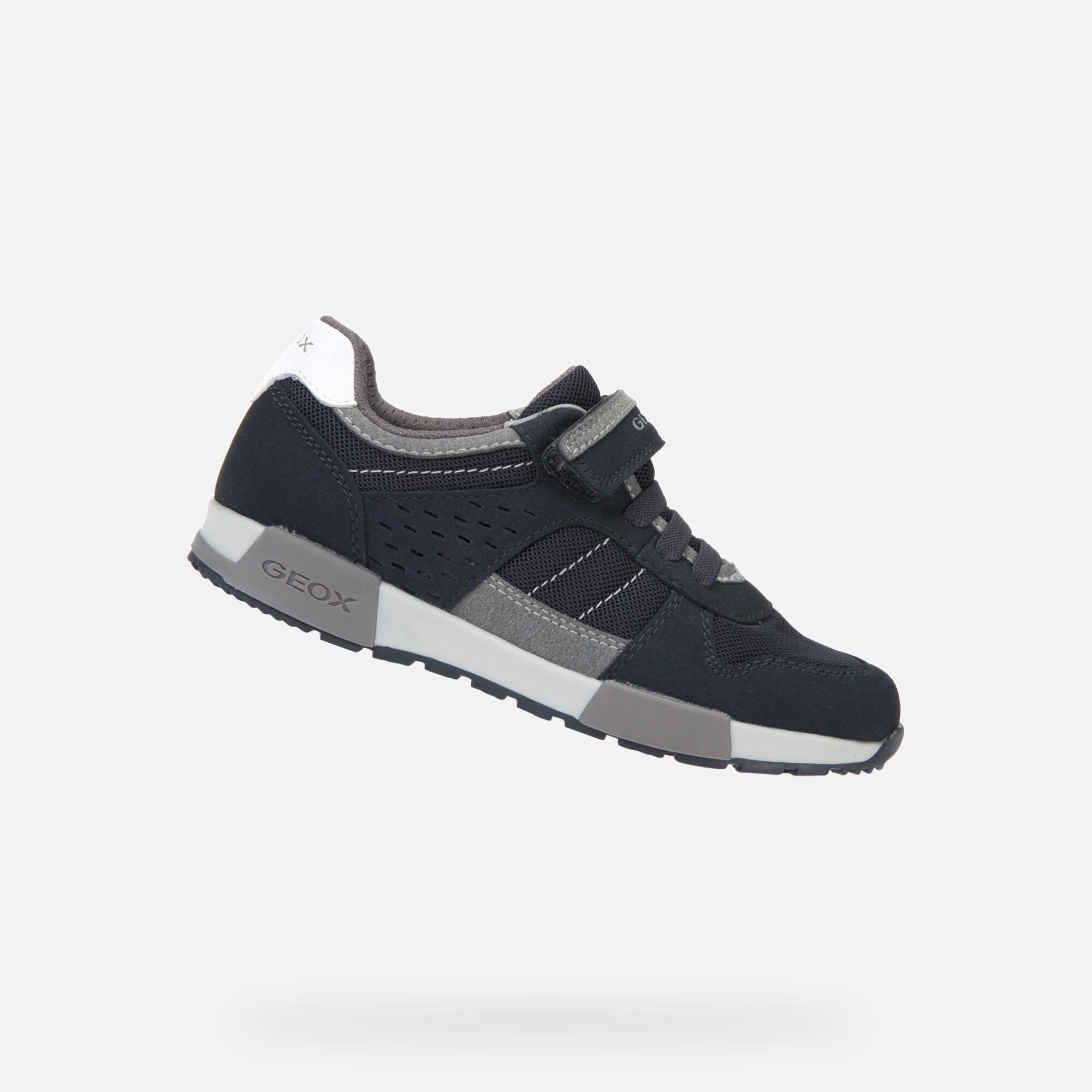 Geox ALFIER Boy: Navy Sneakers   Geox SS20