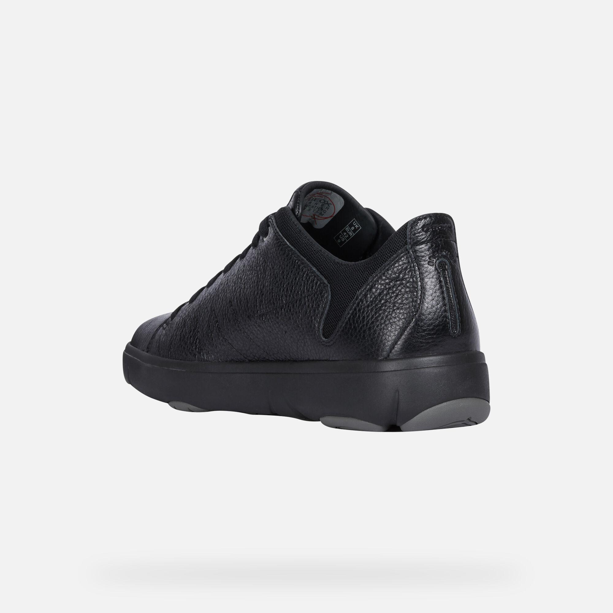 Geox NEBULA Y Man: Black Sneakers
