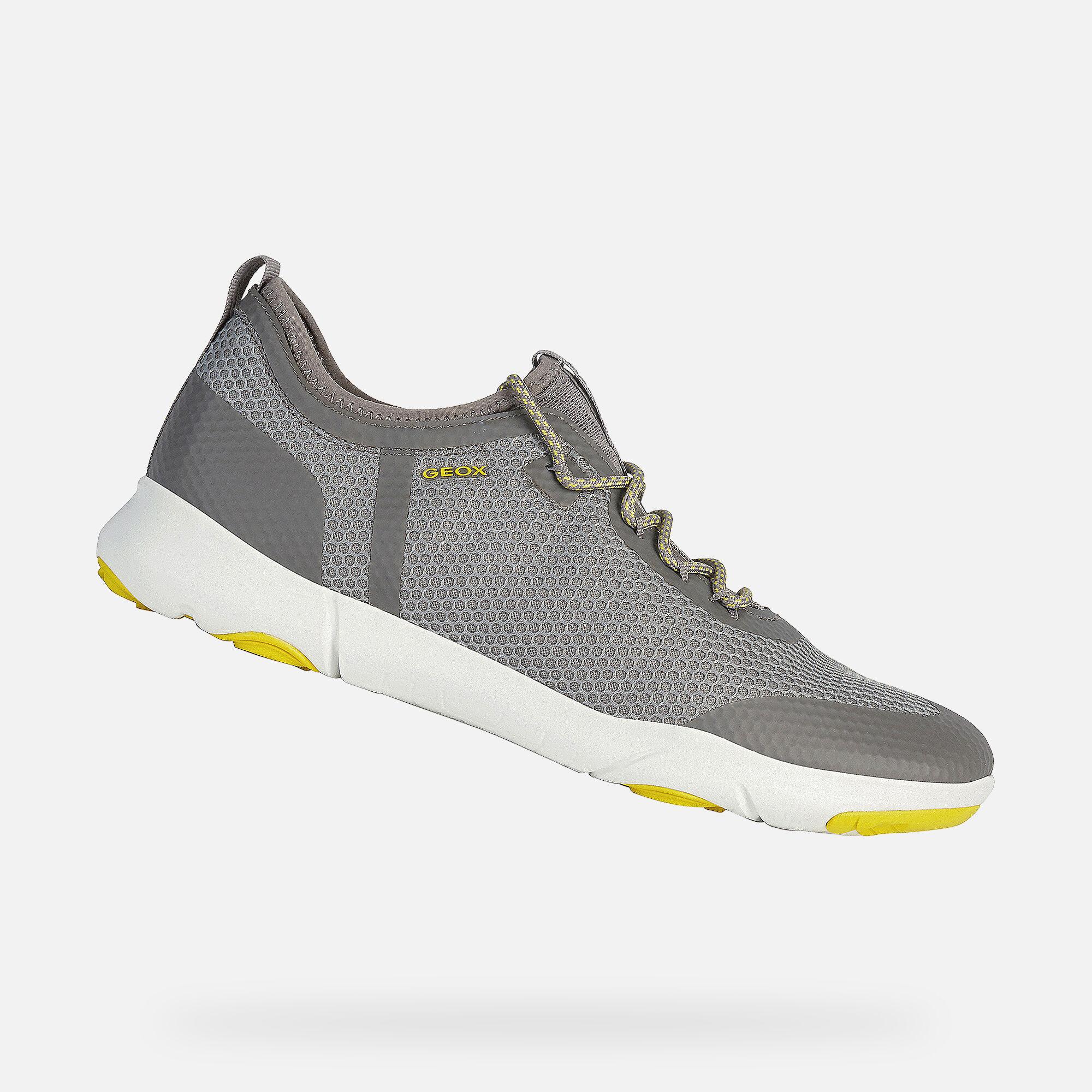 Geox NEBULA X Man: Light grey Sneakers