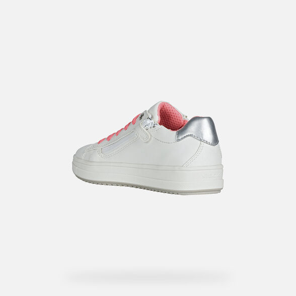 FILLE SNEAKERS GEOX REBECCA FILLE - 4