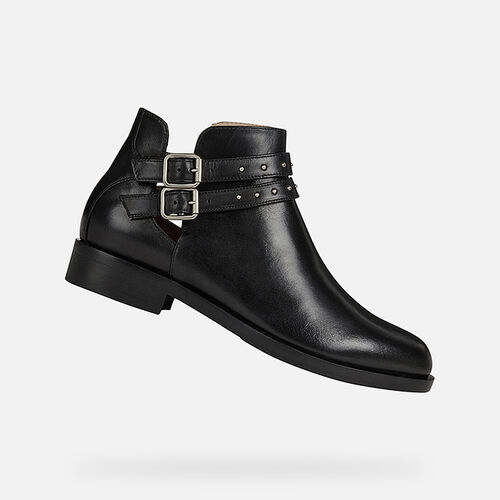 ANKLE BOOTS BROGUE DAME