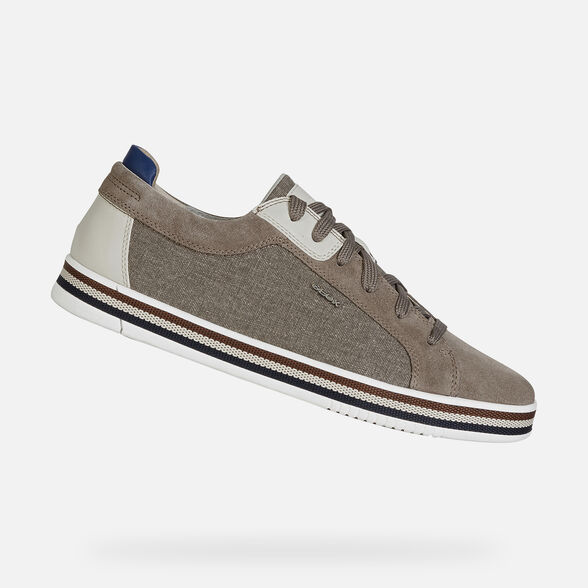 SNEAKERS MAN GEOX EOLO MAN - TAUPE
