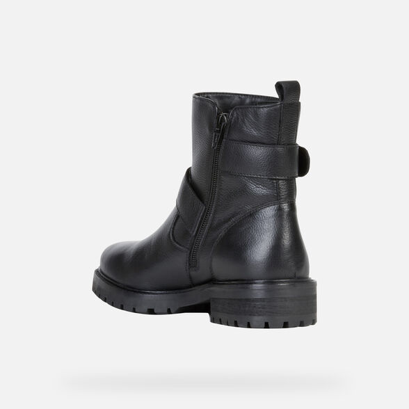 WOMAN ANKLE BOOTS GEOX HOARA WOMAN - 4
