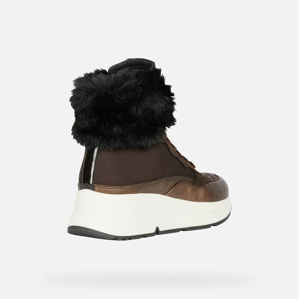 ANKLE BOOTS WOMAN GEOX BACKSIE ABX WOMAN - 5