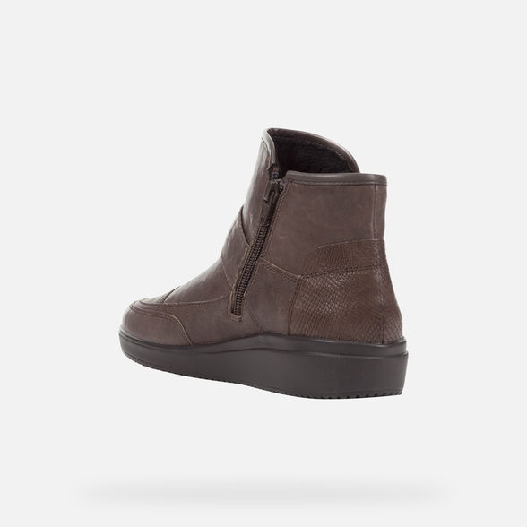 ANKLE BOOTS WOMAN GEOX TAHINA WOMAN - 4
