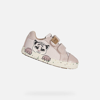 SNEAKERS BABY GEOX KILWI BABY MÄDCHEN