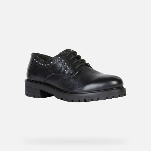 LACE UPS AND BROGUES WOMAN GEOX HOARA WOMAN - 3
