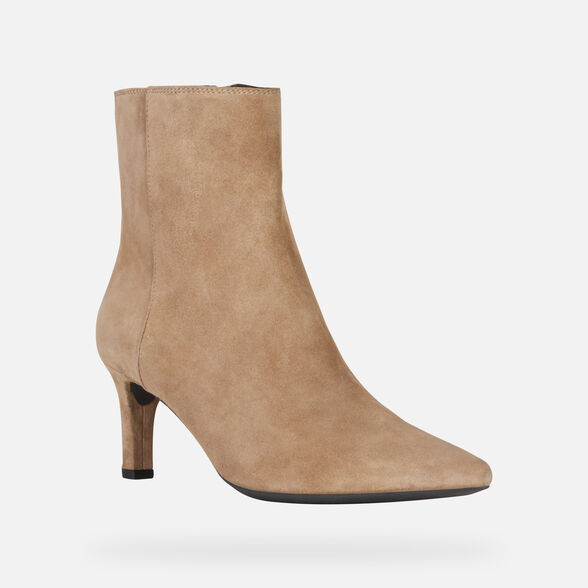 ANKLE BOOTS WOMAN GEOX BIBBIANA WOMAN - 4