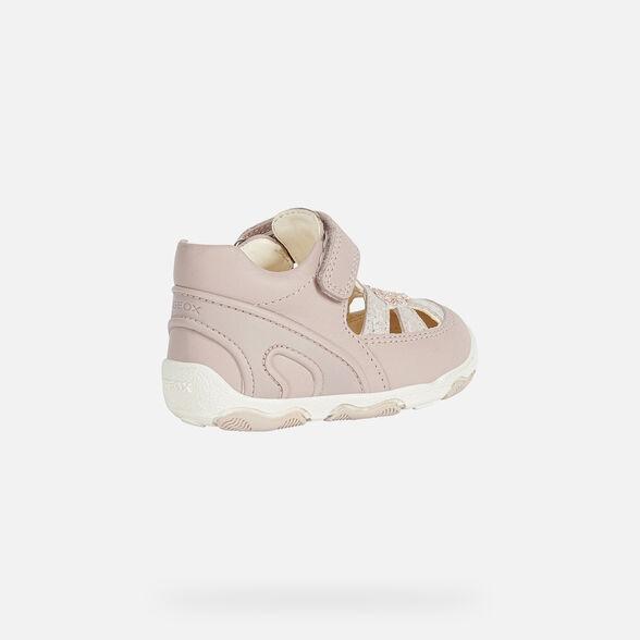 FIRST STEPS BABY GEOX NEW BALÙ BABY GIRL - LIGHT ROSE