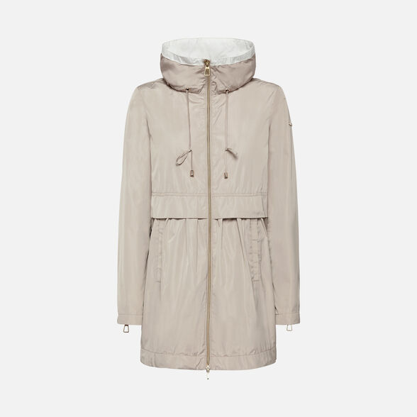 WOMAN ANORAKS GEOX GENZIANA WOMAN - 1