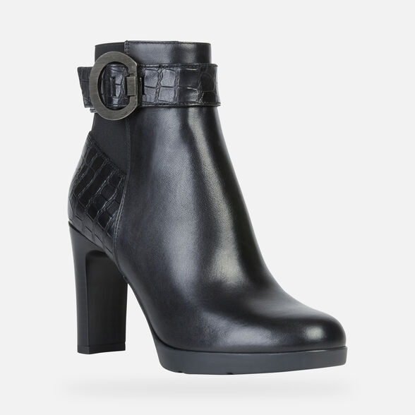 ANKLE BOOTS WOMAN GEOX ANNYA WOMAN - 3