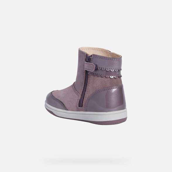 ANKLE BOOTS BABY GEOX NEW FLICK BABY GIRL - 4