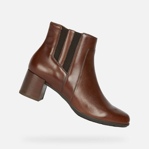 ANKLE BOOTS WOMAN GEOX NEW ANNYA WOMAN - null