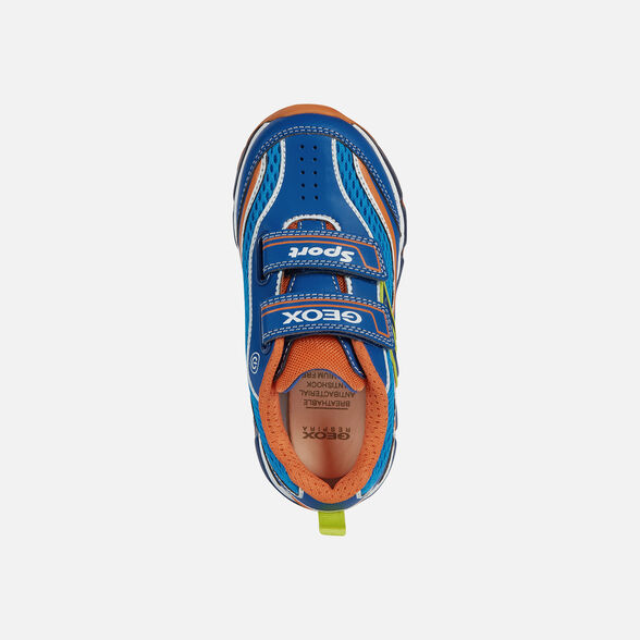 BOY LIGHT-UP SHOES GEOX ANDROID BOY - 6