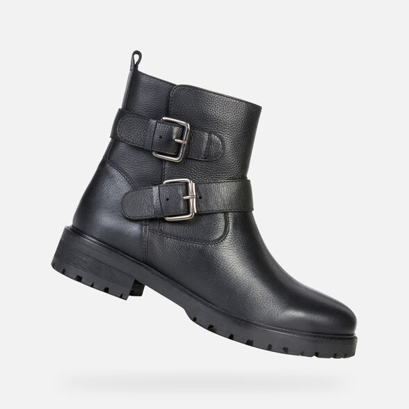 WOMAN ANKLE BOOTS GEOX HOARA WOMAN - 1