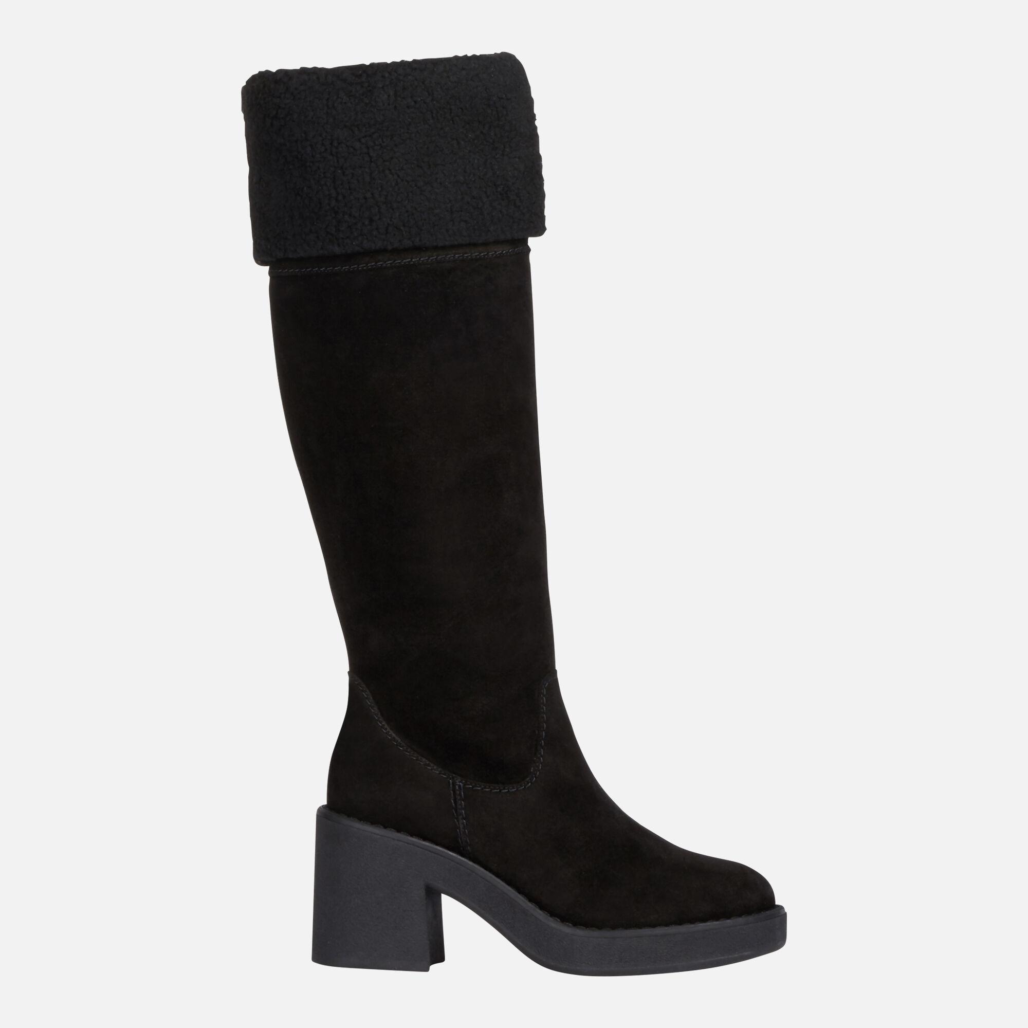 Geox ADRYA MID Frau: schwarze High Heel Stiefeln | Geox ®