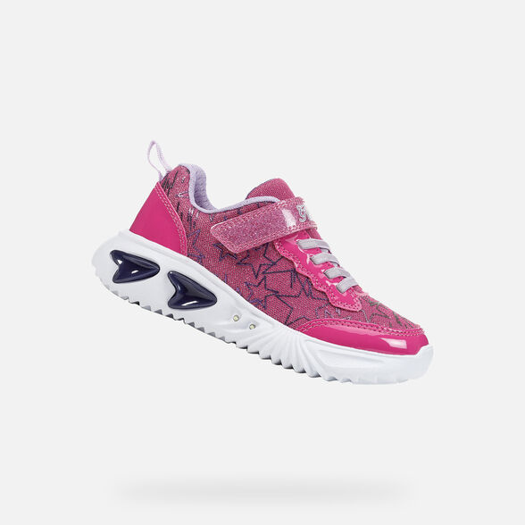 GIRL LIGHT-UP SHOES GEOX ASSISTER GIRL - 1