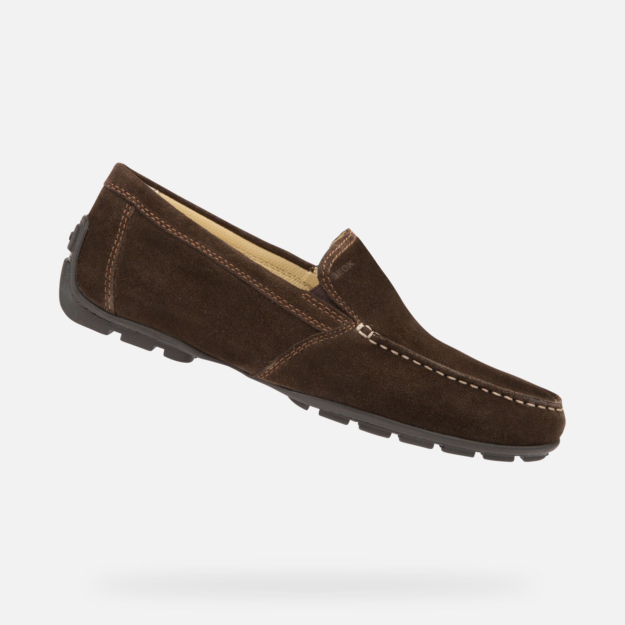 Geox MONER Man: Coffee Loafers | Geox ® Official Store