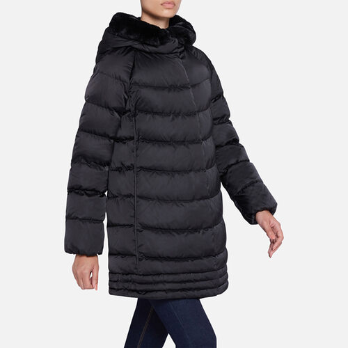 DOWN JACKETS WOMAN GEOX CHLOO WOMAN - null