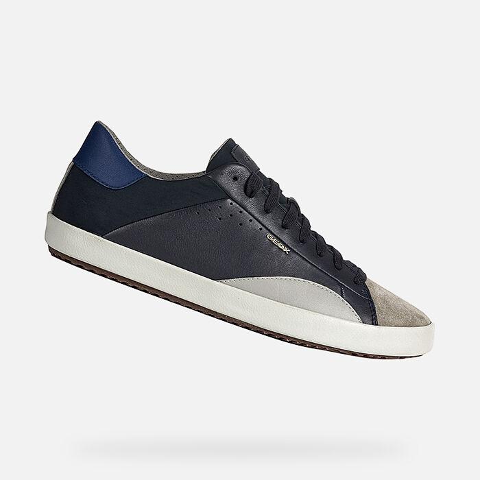 2019 Cheap Men Geox Sneaker Navy
