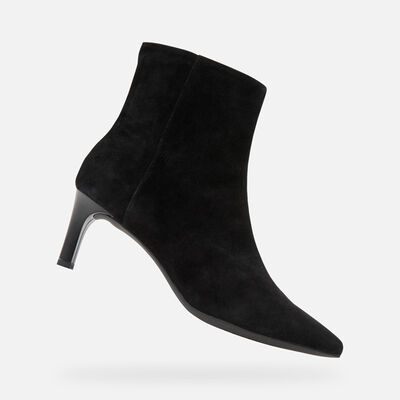 HEELED ANKLE BOOTS WOMAN GEOX BIBBIANA WOMAN