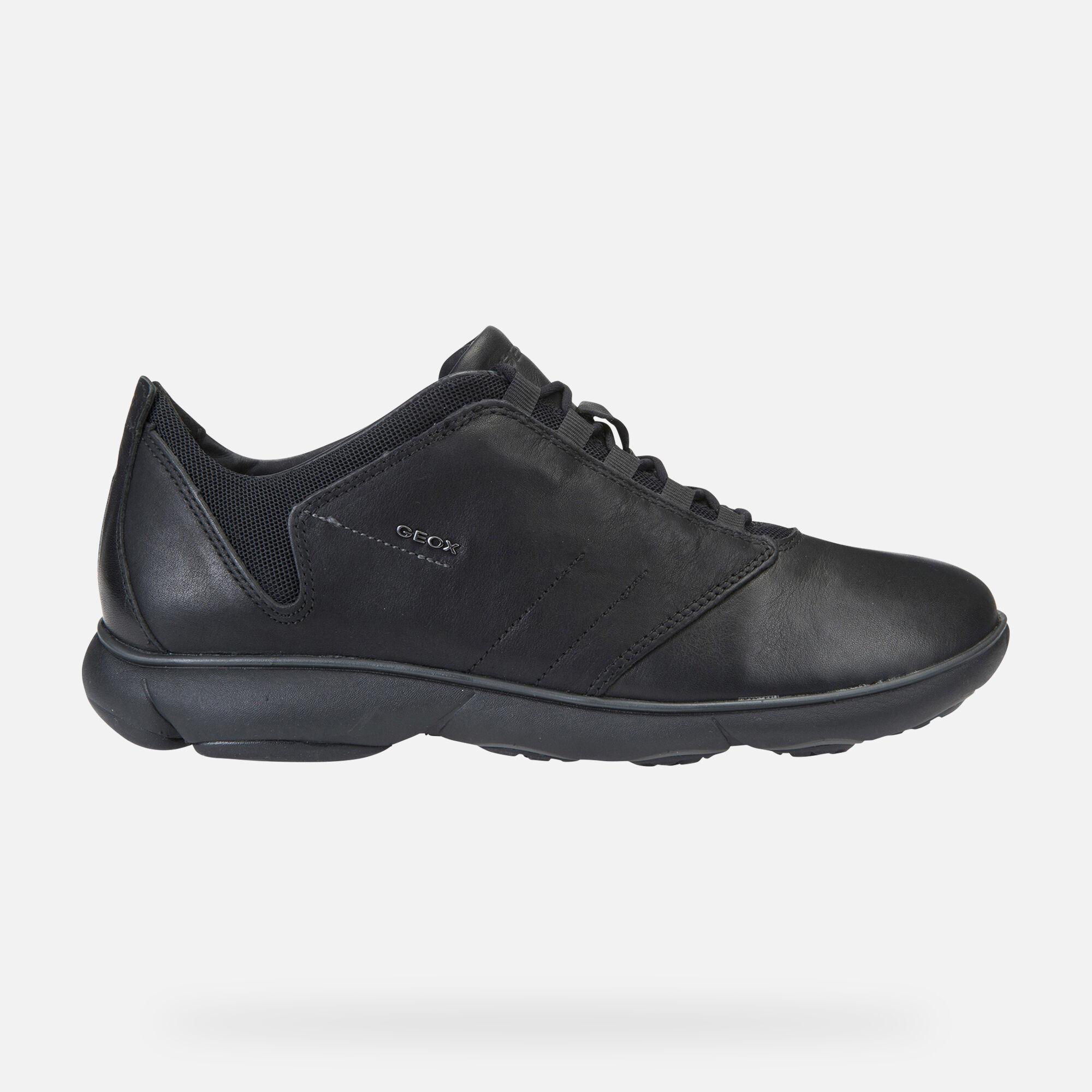 Geox NEBULA Man: Black Sneakers | Geox