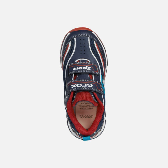 pétalo insecto Fatídico  Geox ANDROID BOY Junior Boy: Navy blue Sneakers   Geox® Toddler