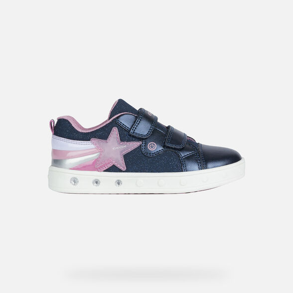 FILLE CHAUSSURES LED GEOX SKYLIN FILLE - 2