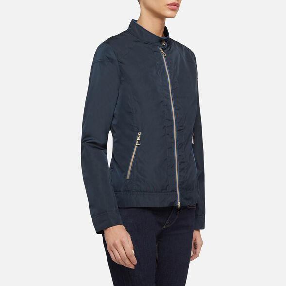 JACKETS WOMAN GEOX GENZIANA WOMAN - 4