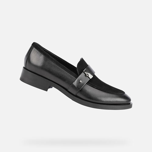 LOAFERS WOMAN GEOX BROGUE WOMAN - null