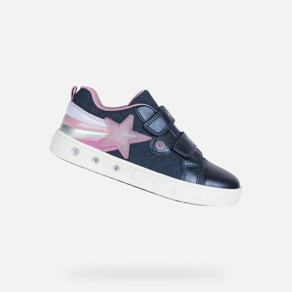 FILLE CHAUSSURES LED GEOX SKYLIN FILLE - 1