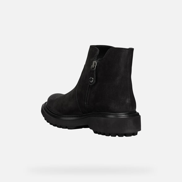 ANKLE BOOTS WOMAN GEOX ASHEELY WOMAN - 4