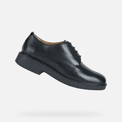 LACE UPS AND BROGUES WOMAN GEOX SPHERICA MODEL EC1 WOMAN - null