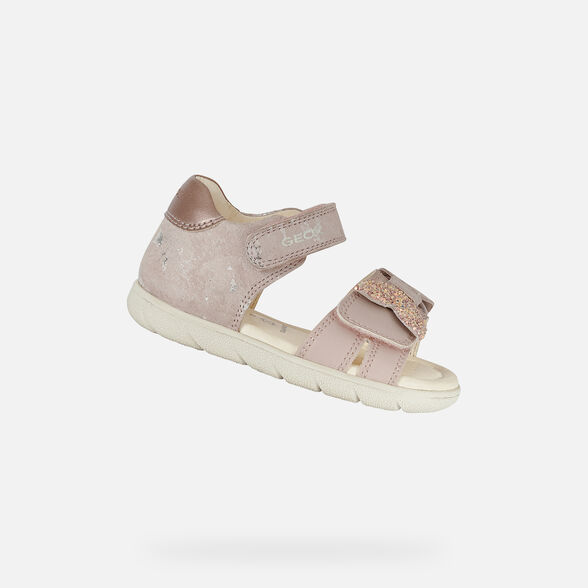 SANDALS BABY GEOX ALUL BABY GIRL - LIGHT ROSE